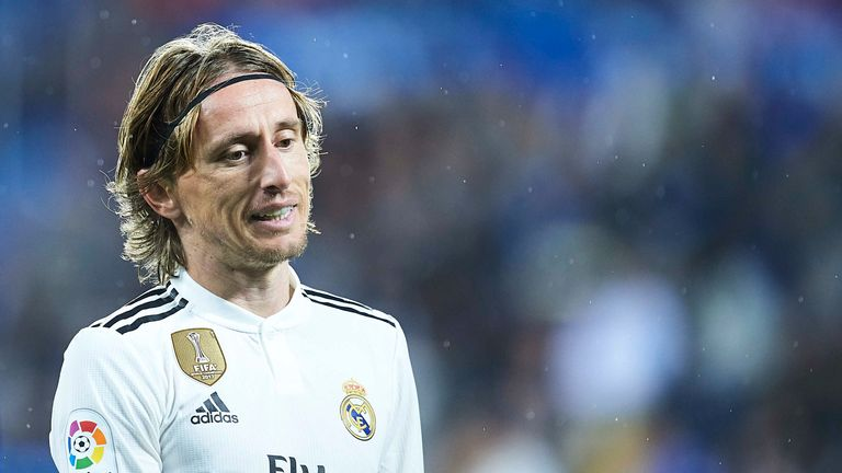 Luka Modric could reportedly leave Real Madrid next summer