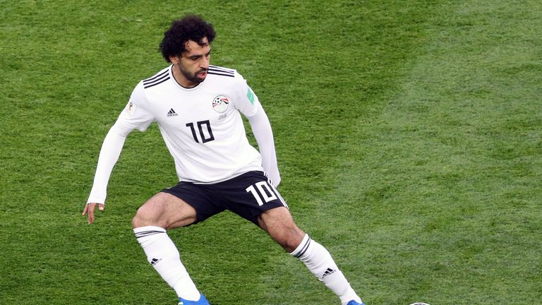 Mohamed Salah was injured playing for Egypt