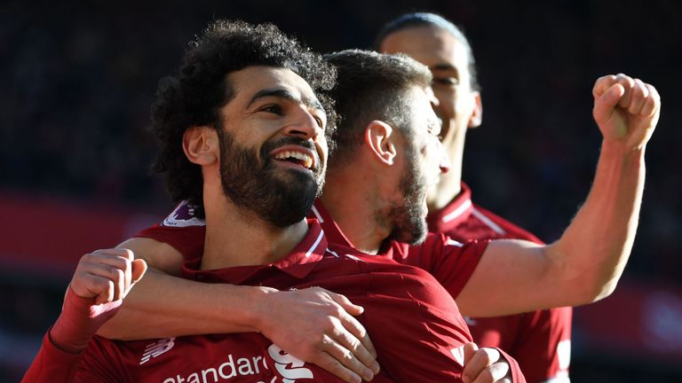 Liverpool had a four-point lead at Christmas