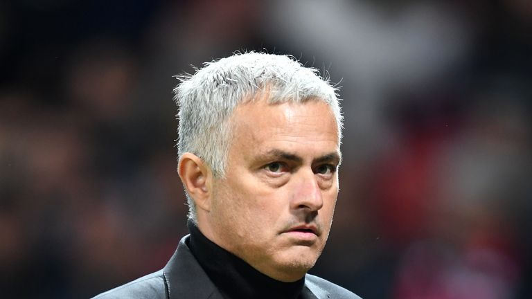 Jose Mourinho saw his side slip to defeat against Juventus