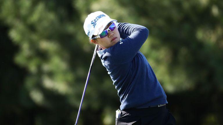 Nasa Hataoka leads the way at Sky 72 Golf Club
