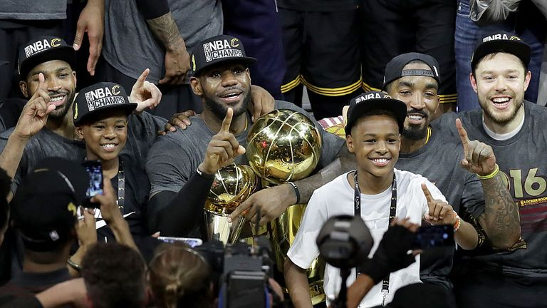Lue and James brought a first NBA trophy to Cleveland