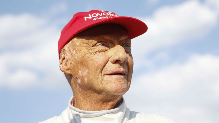 Niki Lauda back in hospital with flu, five months after lung transplant | F1 News