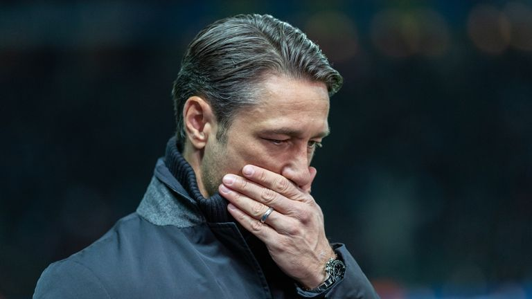 Niko Kovac is already under pressure at Bayern Munich