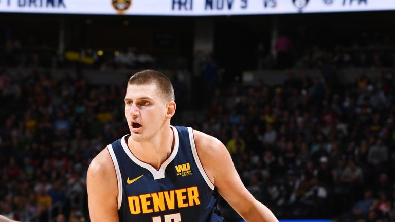 Nikola Jokic missed just one shot all night in the Denver Nuggets convincing win over the Phoenix Suns
