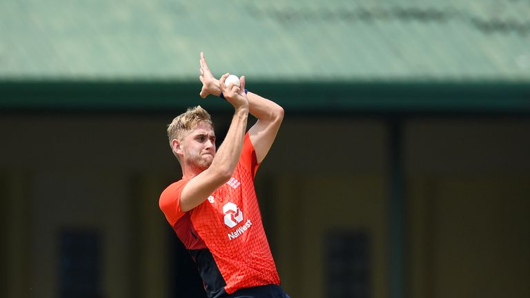 Stone played four ODIs for England in Sri Lanka in October