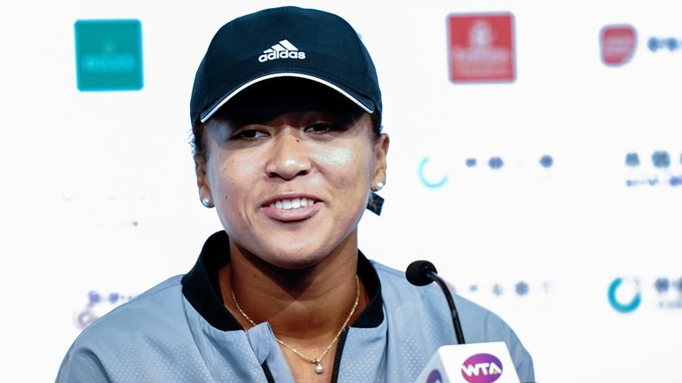 Osaka pulled out of the Hong Kong Open through injury