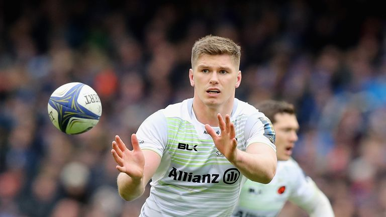 Owen Farrell was the competition's top points-scorer last season with 92