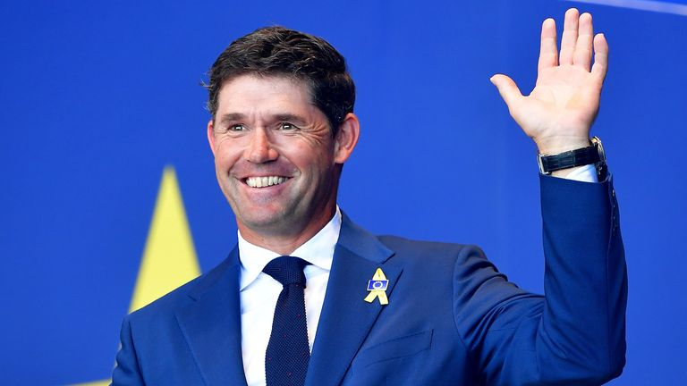 Padraig Harrington is the overwhelming favourite to be Europe's next Ryder Cup captain