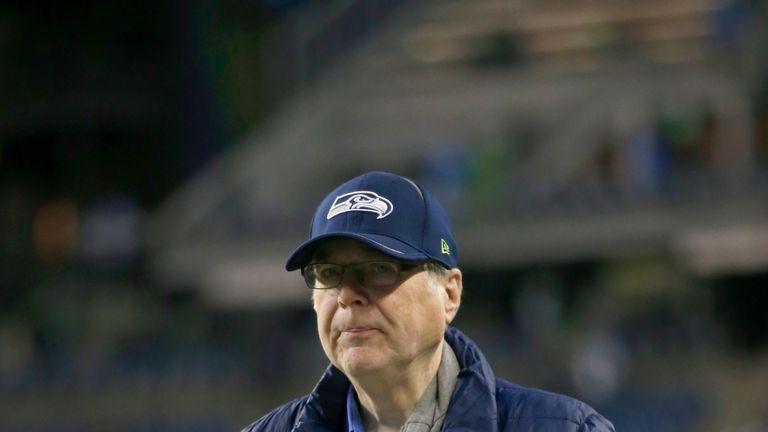 Paul Allen bought the Seattle Seahawks in 1996