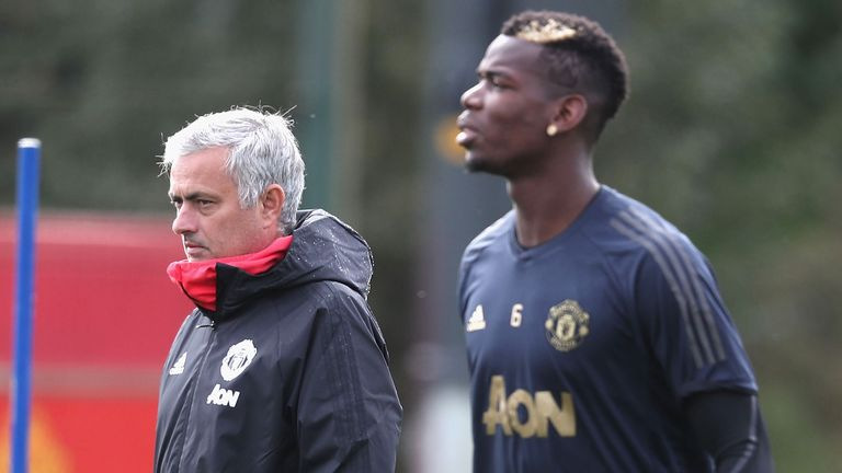 Pogba is focusing on the football after weeks of speculation surrounding his relationship with Jose Mourinho