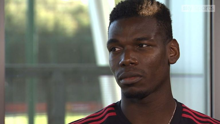 Paul Pogba spoke exclusively with Sky Sports ahead of Chelsea vs Manchester United