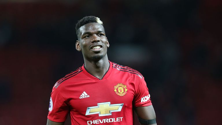 Paul Pogba was an unused substituted against Fulham on Saturday