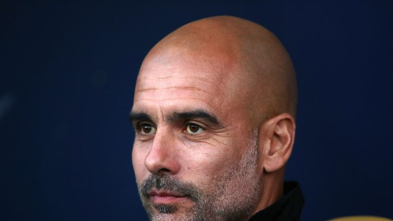 during the Carabao Cup Third Round match between Oxford United and Manchester City at Kassam Stadium on September 25, 2018 in Oxford, England.