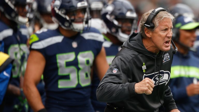 Pete Carroll joined the Seahawks in 2010, leading them to a SuperBowl win in the 2013 season