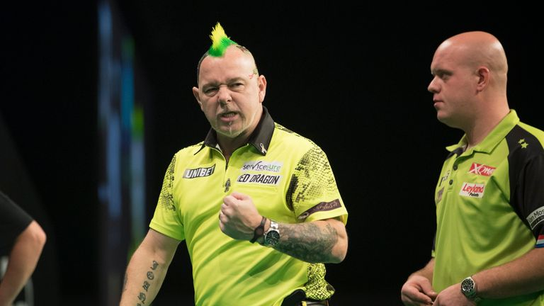 Wright is in the opposite side of the draw to tournament favourites Michael van Gerwen and Gary Anderson