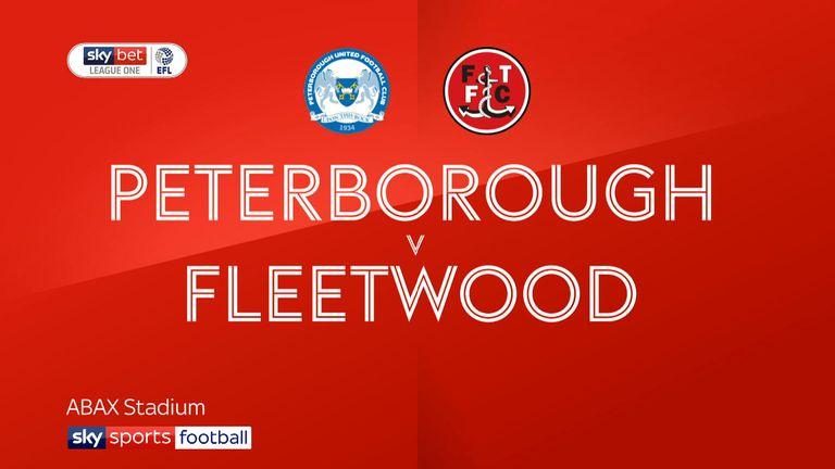 Peterborough v Fleetwood