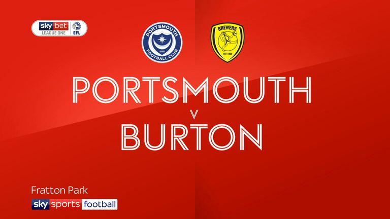Portsmouth v Burton