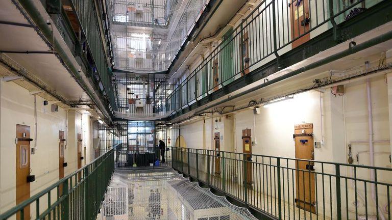 Imagen de una cárcel inglesa.