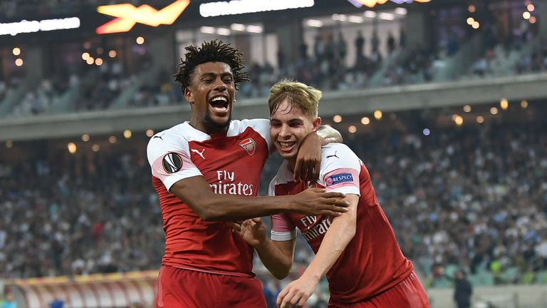 Emile Smith Rowe doubled Arsenal's advantage