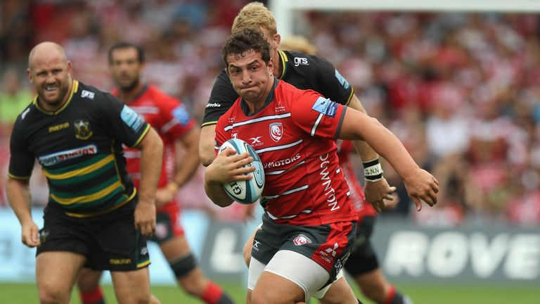 Gloucester prop Val Rapava-Ruskin has stood out in the Premiership, but has been overlooked