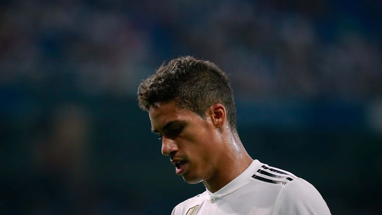 Raphael Varane is reportedly a long-term target for United