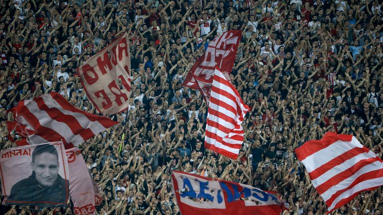 Red Star Belgrade fans have been banned from buying tickets to their match at Anfield on October 24