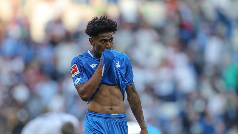 Reiss Nelson is on a season-long loan at Hoffenheim