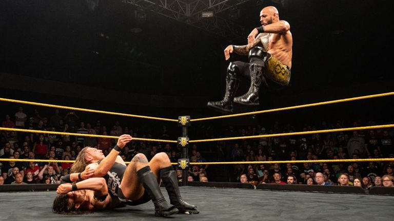 Ricochet continues to impress on NXT