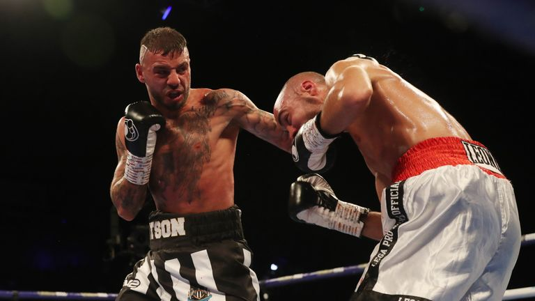 Lewis Ritson was in control for the early rounds