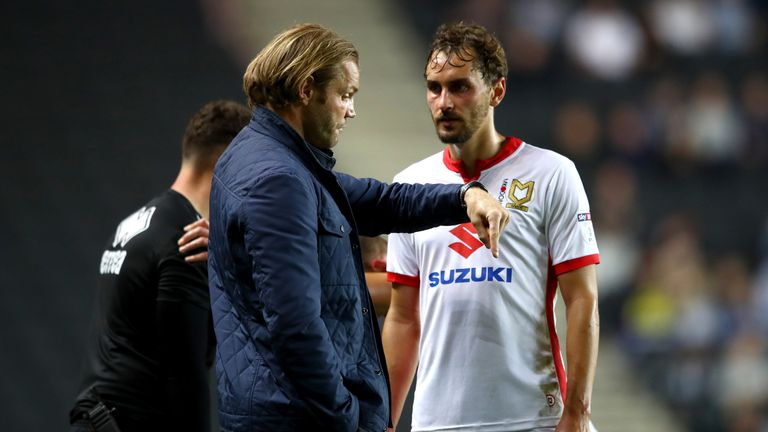 Neilson was sacked by MK Dons in January this year