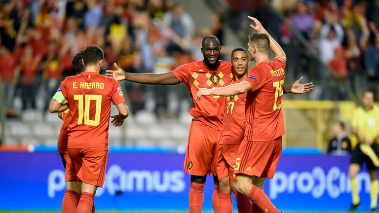 Romelu Lukaku's Belgium need only a point to win their group
