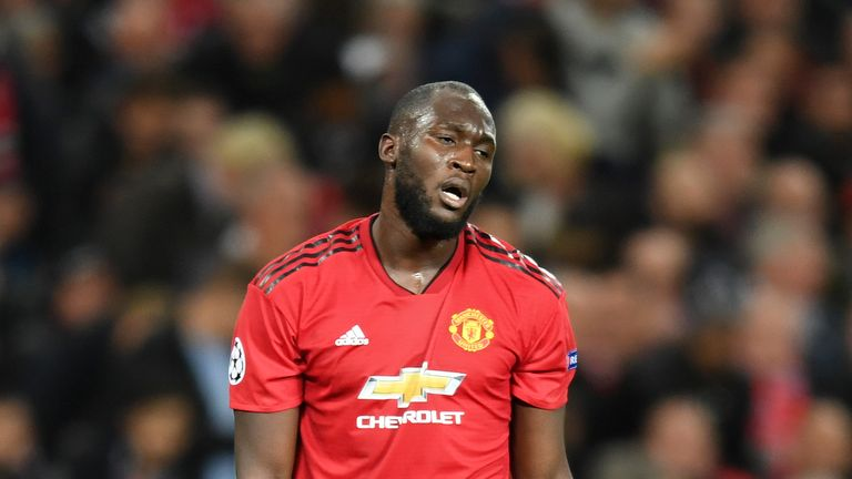 Romelu Lukaku has gone eight games without a goal for Manchester United