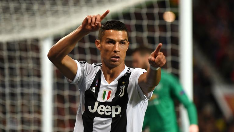 Juventus Boss Restricts Ronaldo From Taking Certain Free-Kicks
