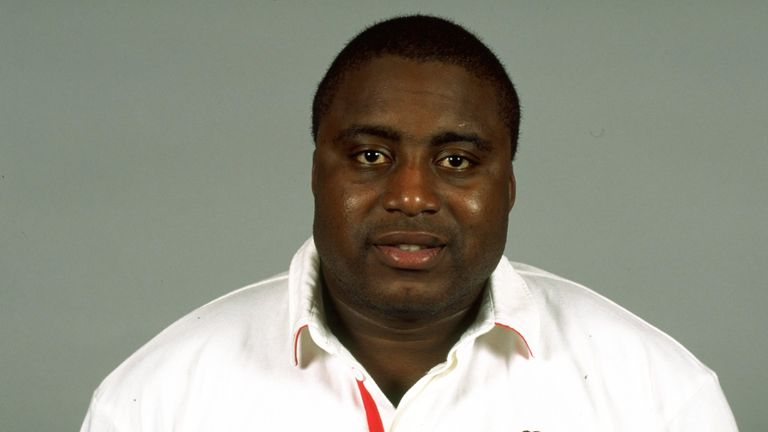 Steve Ojomoh won 12 caps for England between 1994 and 1998