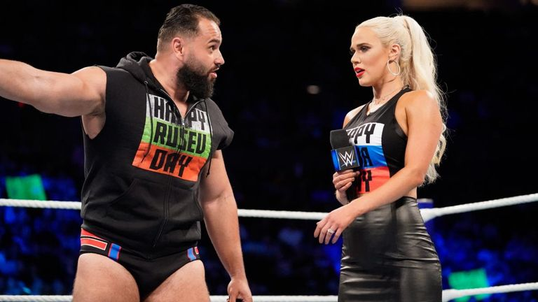 Rusev and Lana are undergoing some marital difficulties - thanks to Aiden English