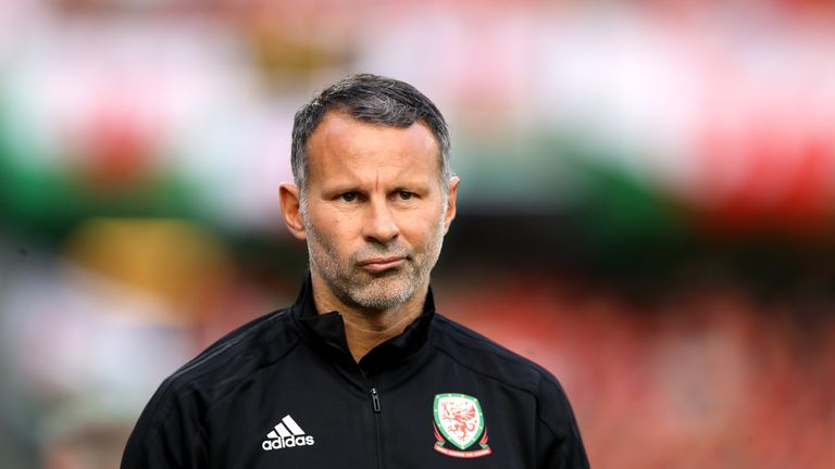 Wales manager Ryan Giggs says Schmeichel showed his class in the days after the tragedy