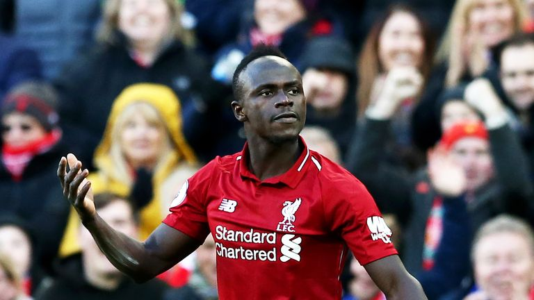 Mane signed a new long-term contract with Liverpool on Thursday