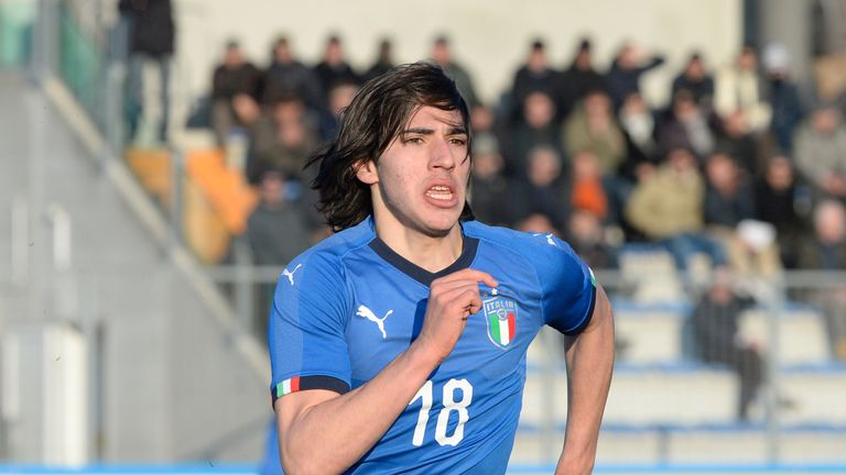 Sandro Tonali has been linked with a move to Chelsea