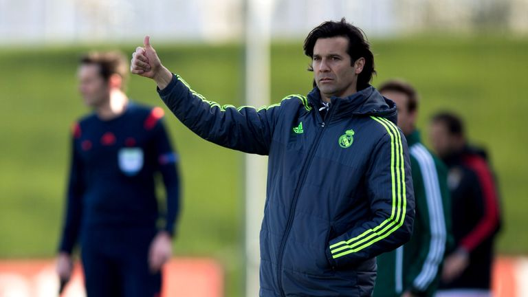 Santiago Solari will step up from Real Madrid's B-team 'Castilla' to replace Lopetegui