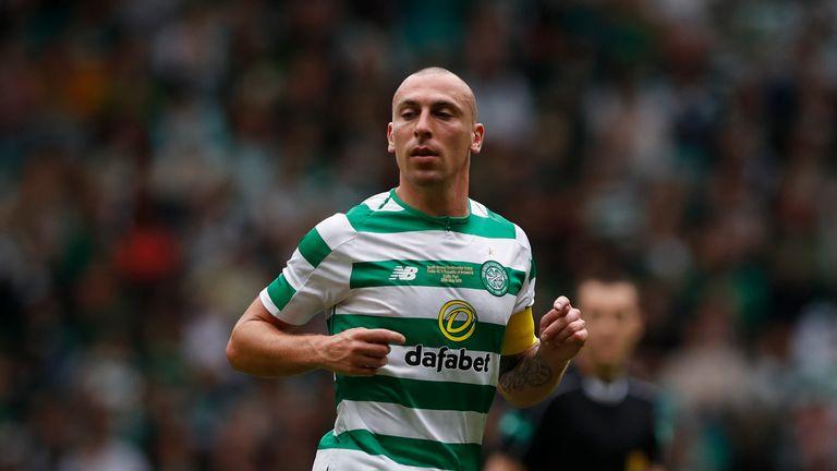 Scott Brown in action for Celtic