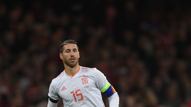 Spain's Sergio Ramos: 'Nothing else to say' about Raheem Sterling stamp
