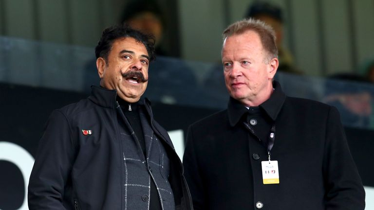 Shahid Khan has backed under-fire Fulham boss Slavisa Jokanovic