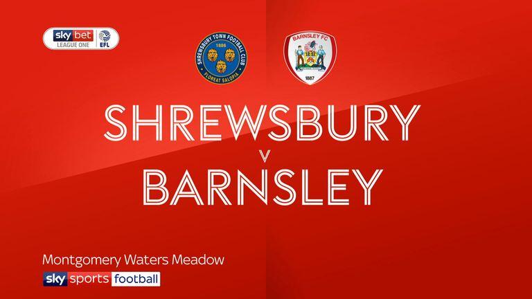 Shrewsbury v Barnsley