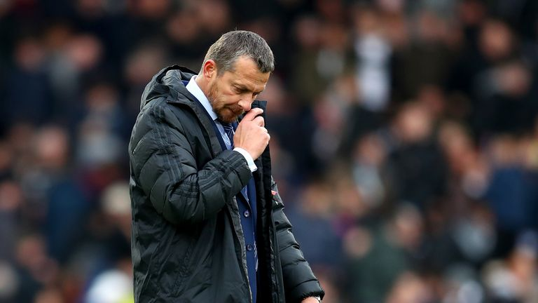 Slavisa Jokanovic was sacked with Fulham bottom of the Premier League