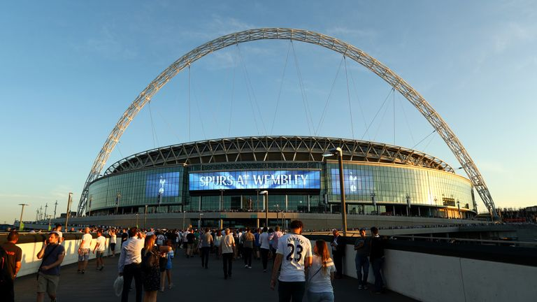 Spurs have played their home league games at Wembley since the start of the 2017/18 season