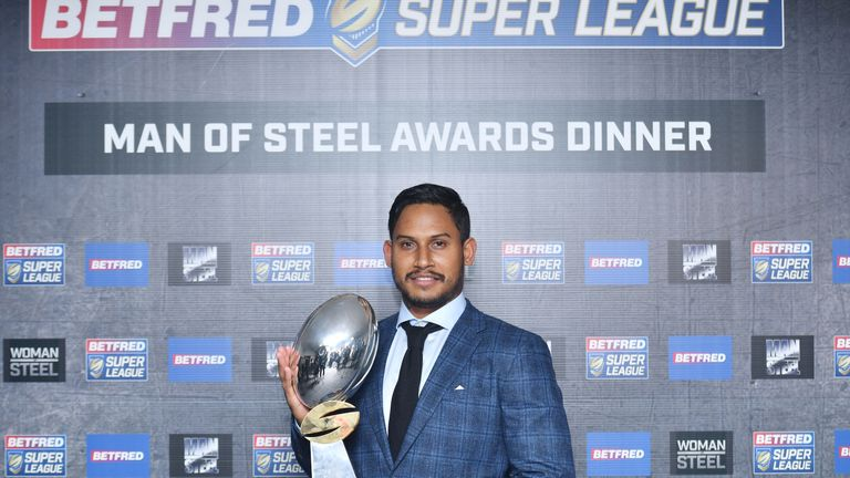 Barba received 2018's Super League Steve Prescott Man of Steel award