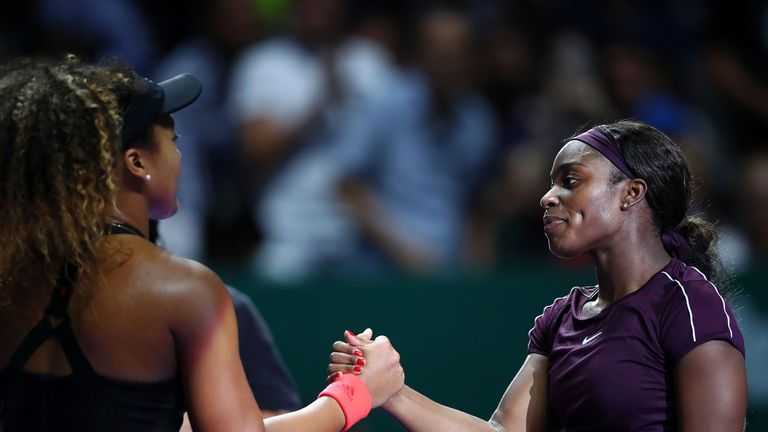 The match saw the past two US Open champions meet