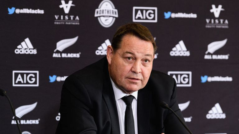 Steve Hansen discussed their decision to play two play-makers after their Test victory in Japan