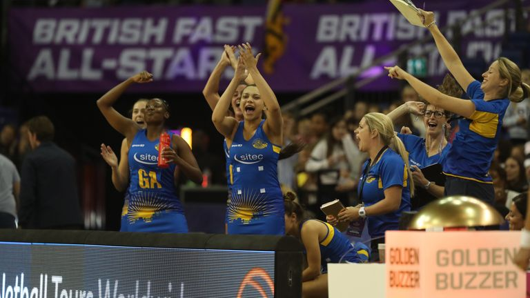 The Fast 5 event brings fans and players to their feet